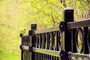 aluminum fence posts