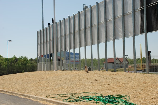 Newport News Commercial Vinyl Coated Chain Link Fence