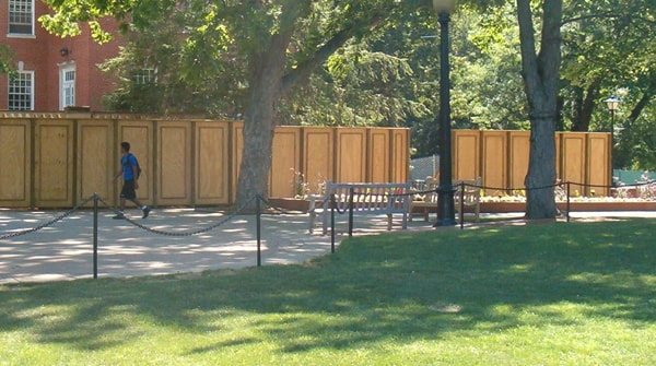 Newport News Commercial Temporary Fence Hercules Fence