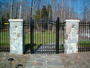steel fences Hercules Fence Newport News