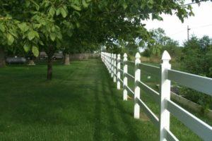 Vinyl fence installation Hercules Fence Newport News