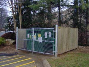 Dumpster Enclosures Hercules Fence Newport News