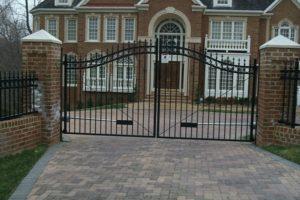 Choosing Between Single and Double Swing Gates Hercules Fence Newport News