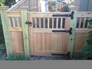Should I install a Fence Gate on a Slope?
